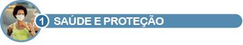Vinheta saúde e proteção